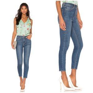 L'Agence Margot High Rise Skinny Jeans in Neptune